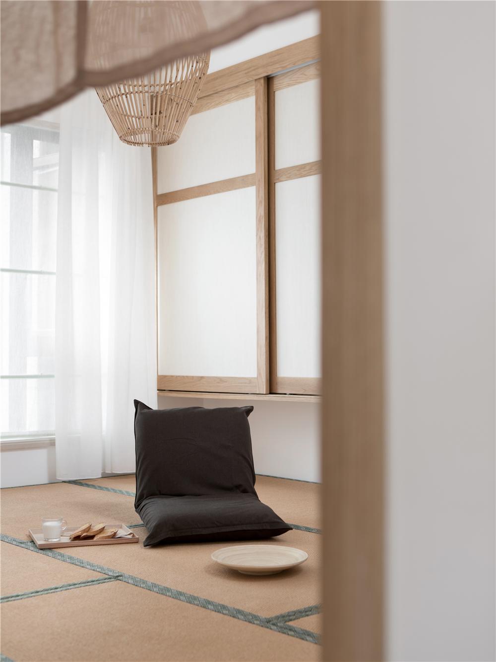140㎡日式风格榻榻米装修效果图