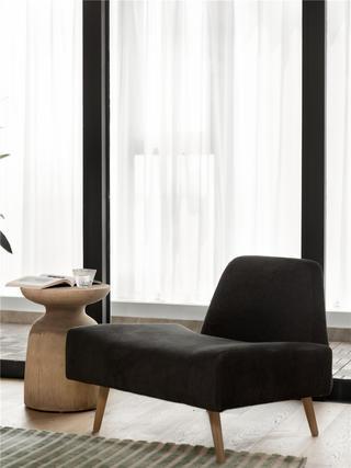 140㎡日式风格装修休闲椅设计图