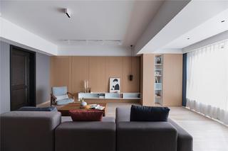 现代风格四房客厅装修效果图