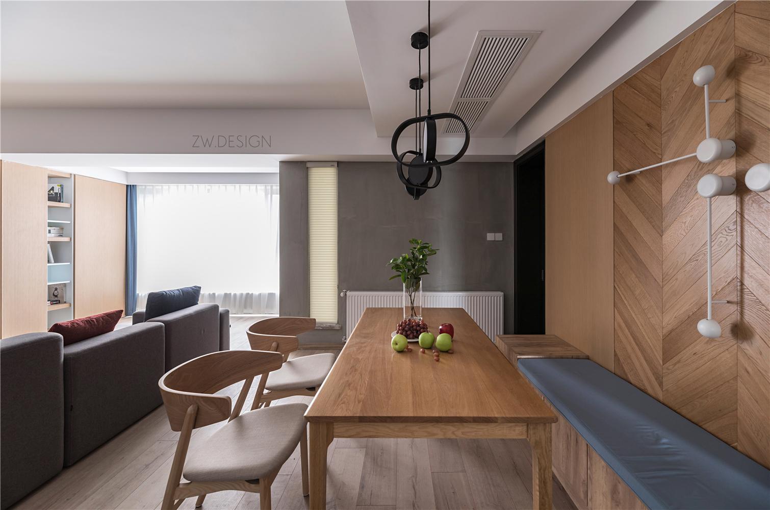 现代风格四房餐厅装修效果图