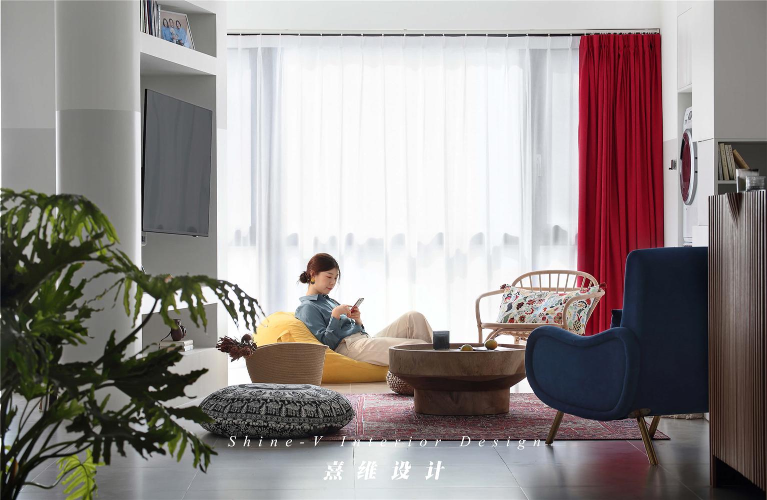 客厅123平米两居室客厅装修效果图
