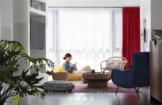 客厅123平米两居室客厅每日首存送20