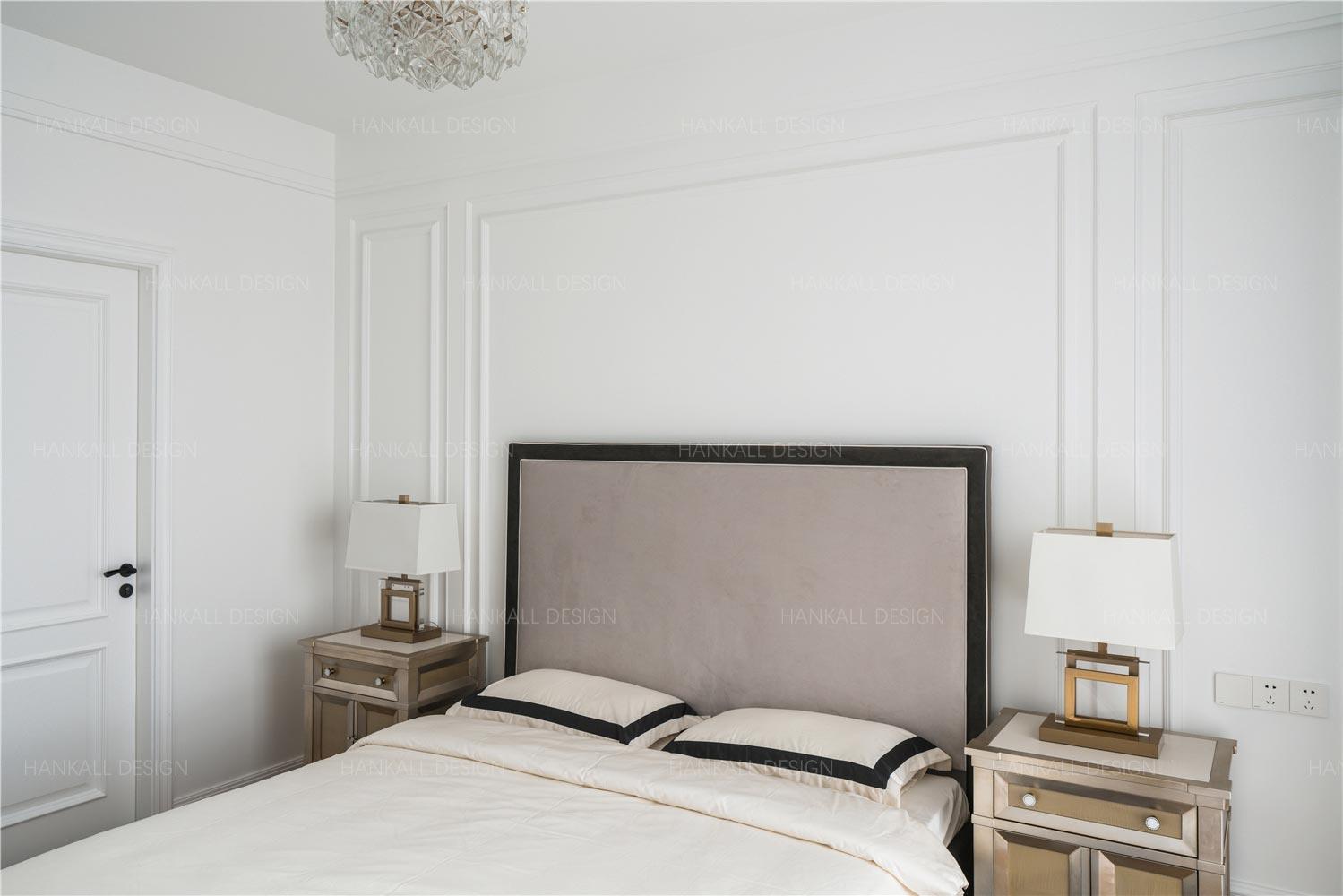 160平四居卧室装修效果图
