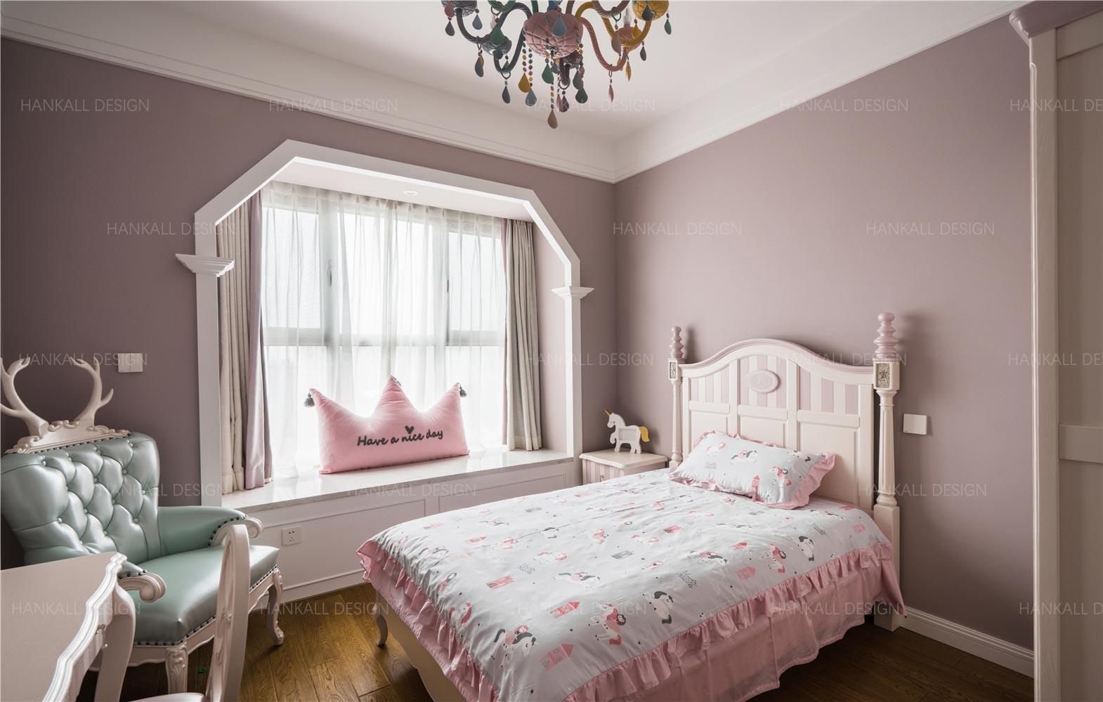 160平四居室儿童房装修效果图