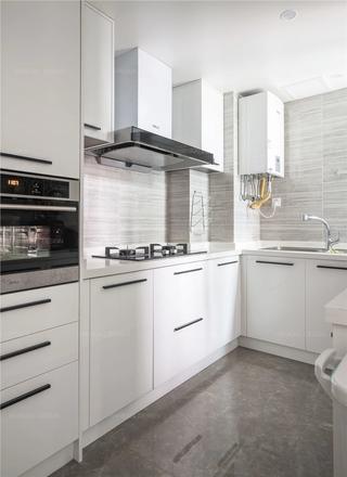 90㎡现代两居室厨房装修效果图