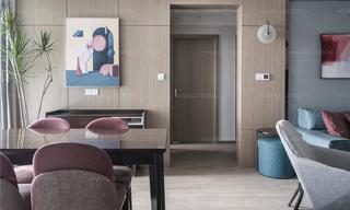 90㎡现代两居室装修效果图