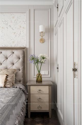 法式风格别墅装修床头柜设计图