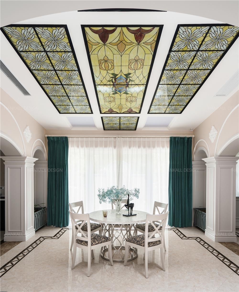 法式风格别墅餐厅装修效果图