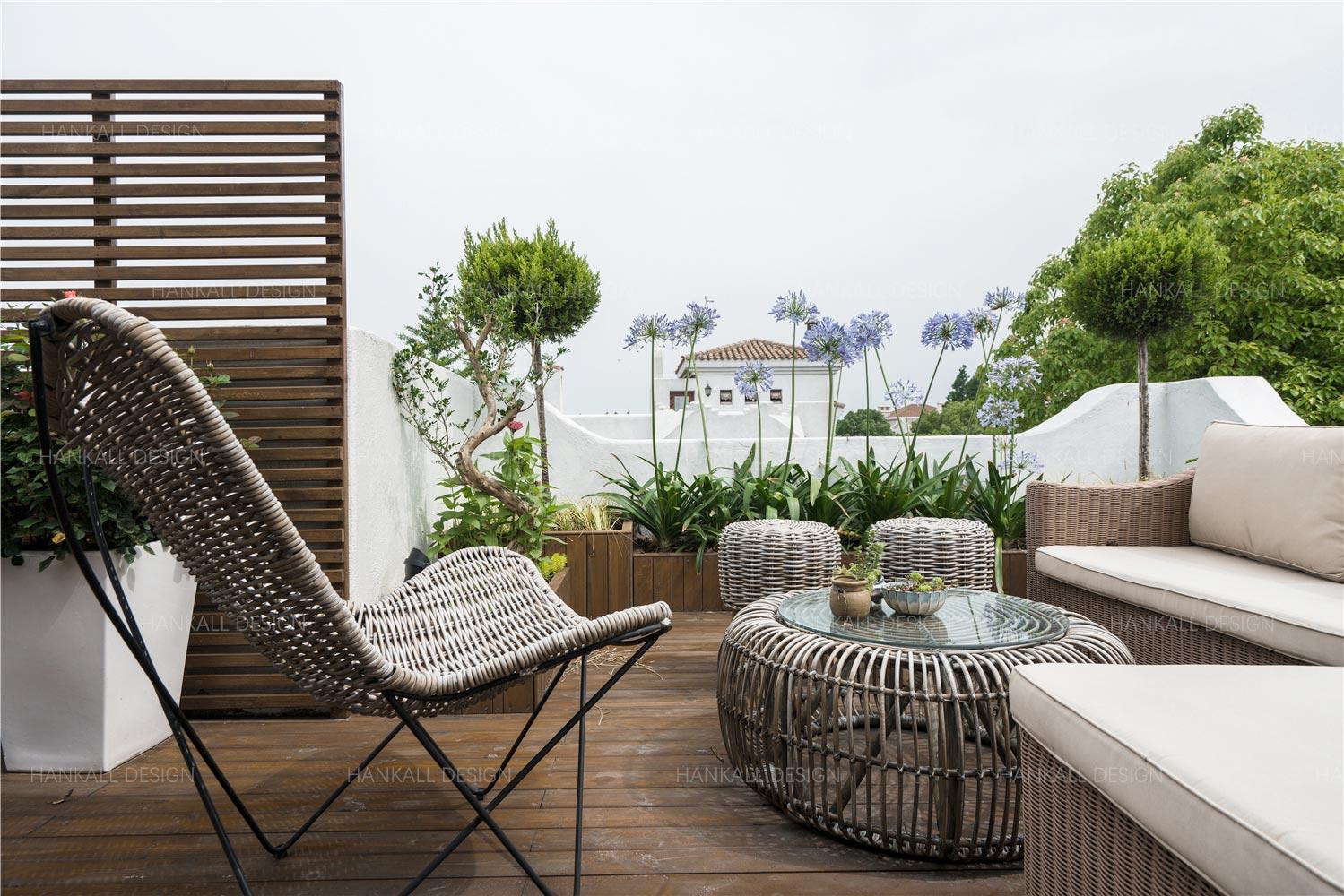 法式风格别墅露台装修效果图
