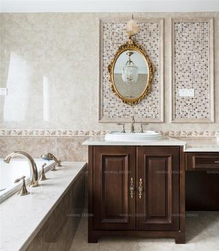 法式风格别墅卫生间装修效果图