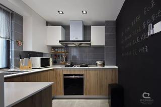 现代MUJI风三居厨房装修效果图