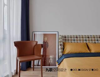 100㎡现代简约风格装修卧室一角