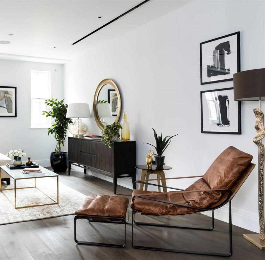 简约风二居室装修躺椅设计图