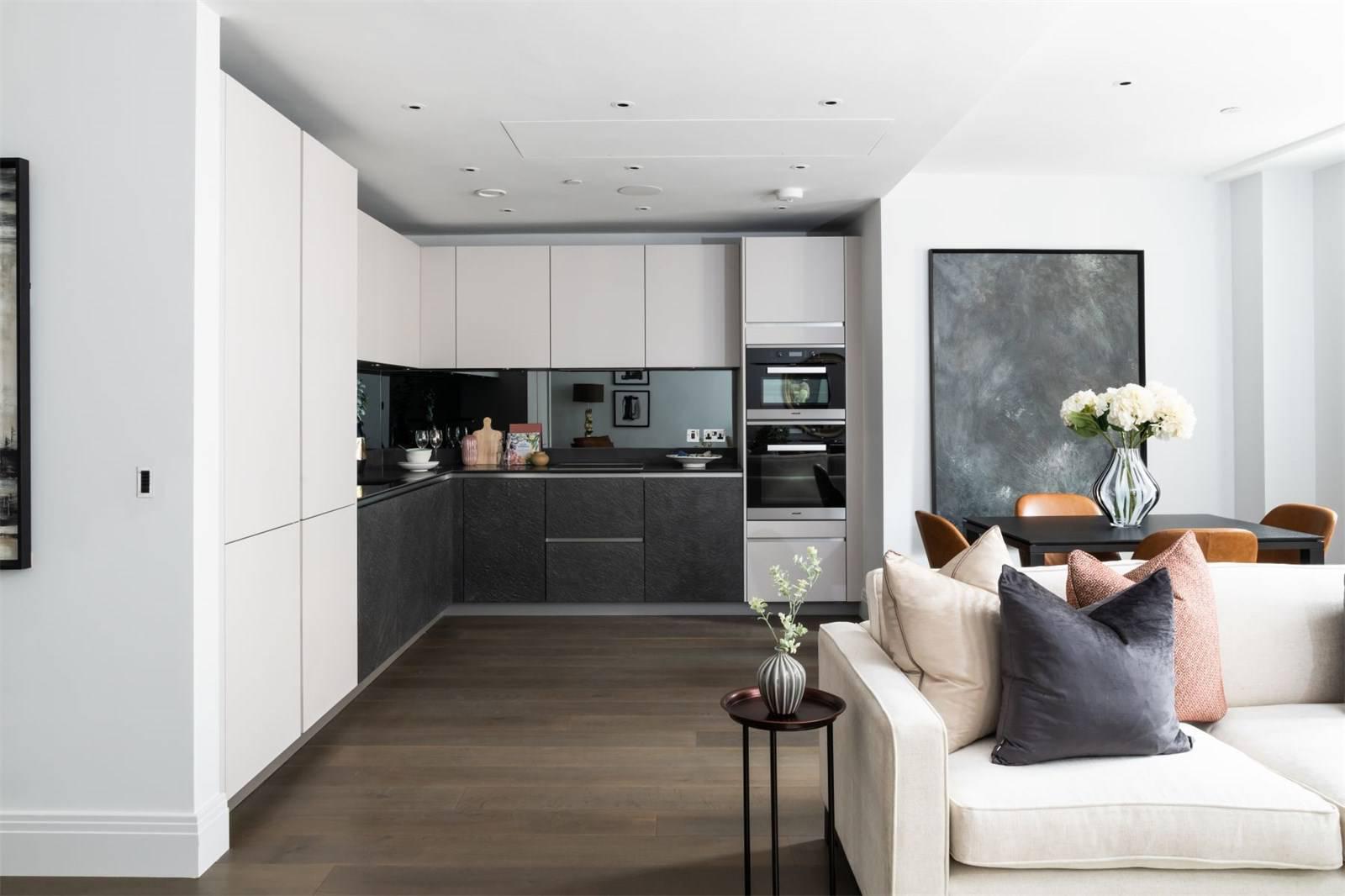 简约风二居室厨房装修效果图