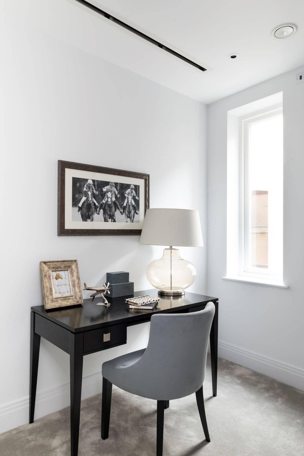 简约风二居室装修书桌设计图