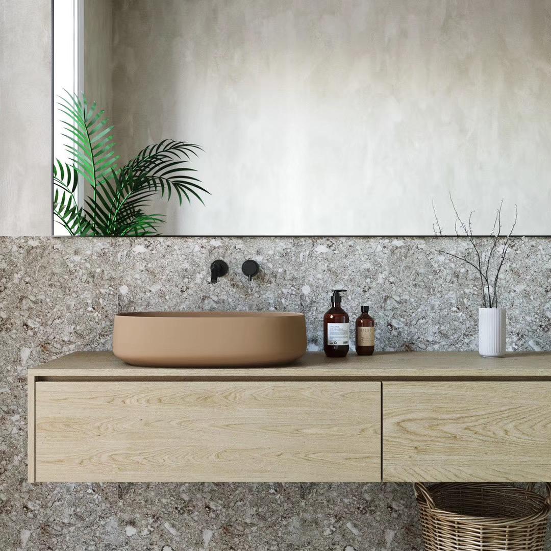 MUJI风格公寓洗手台装修效果图