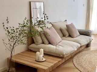 简约日式风格装修沙发设计图