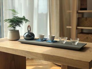 简约日式风格装修茶桌设计图