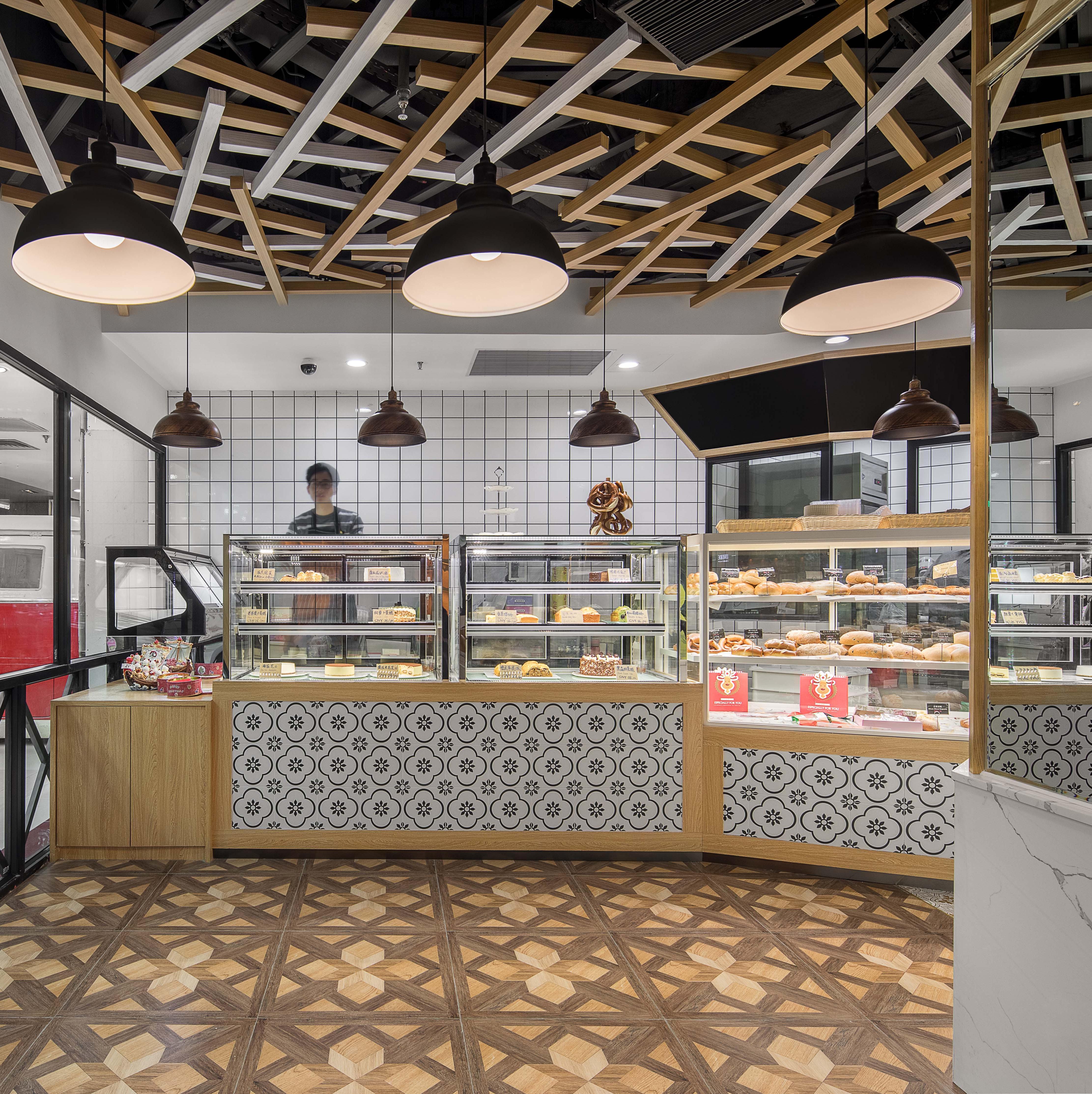 面包餐厅装修效果图