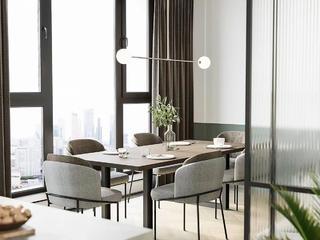 简约现代公寓餐厅装修效果图
