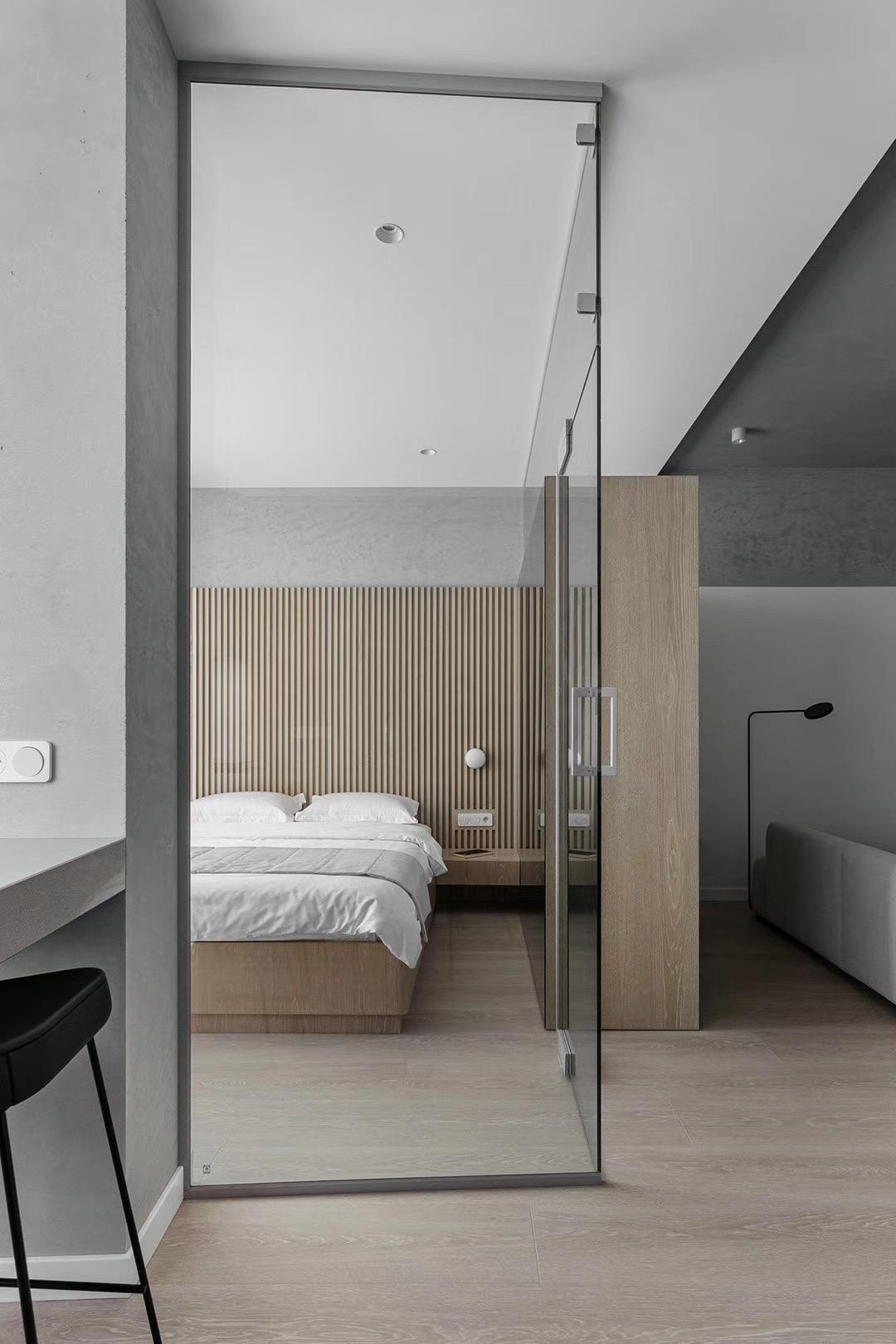 小户型简约风卧室装修效果图
