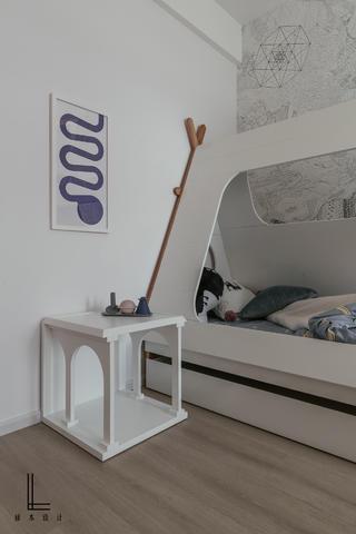 极简风格三居儿童房装修效果图