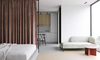 47平小户型公寓装修效果图