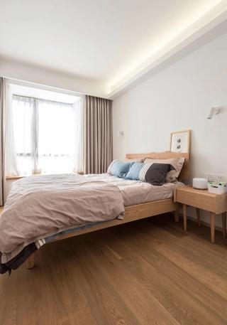 80平日式风格卧室装修效果图