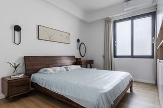 110㎡简中式风格卧室装修效果图