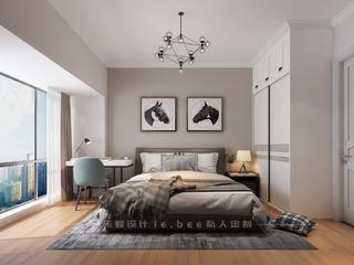 108平米三居卧室装修效果图