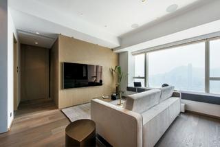 158㎡现代风格客厅装修效果图