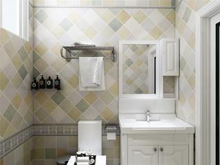 北欧风二居室卫生间装修效果图