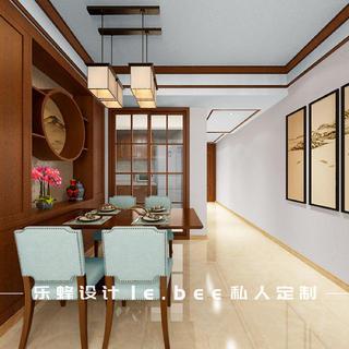 三居室中式风格餐厅每日首存送20