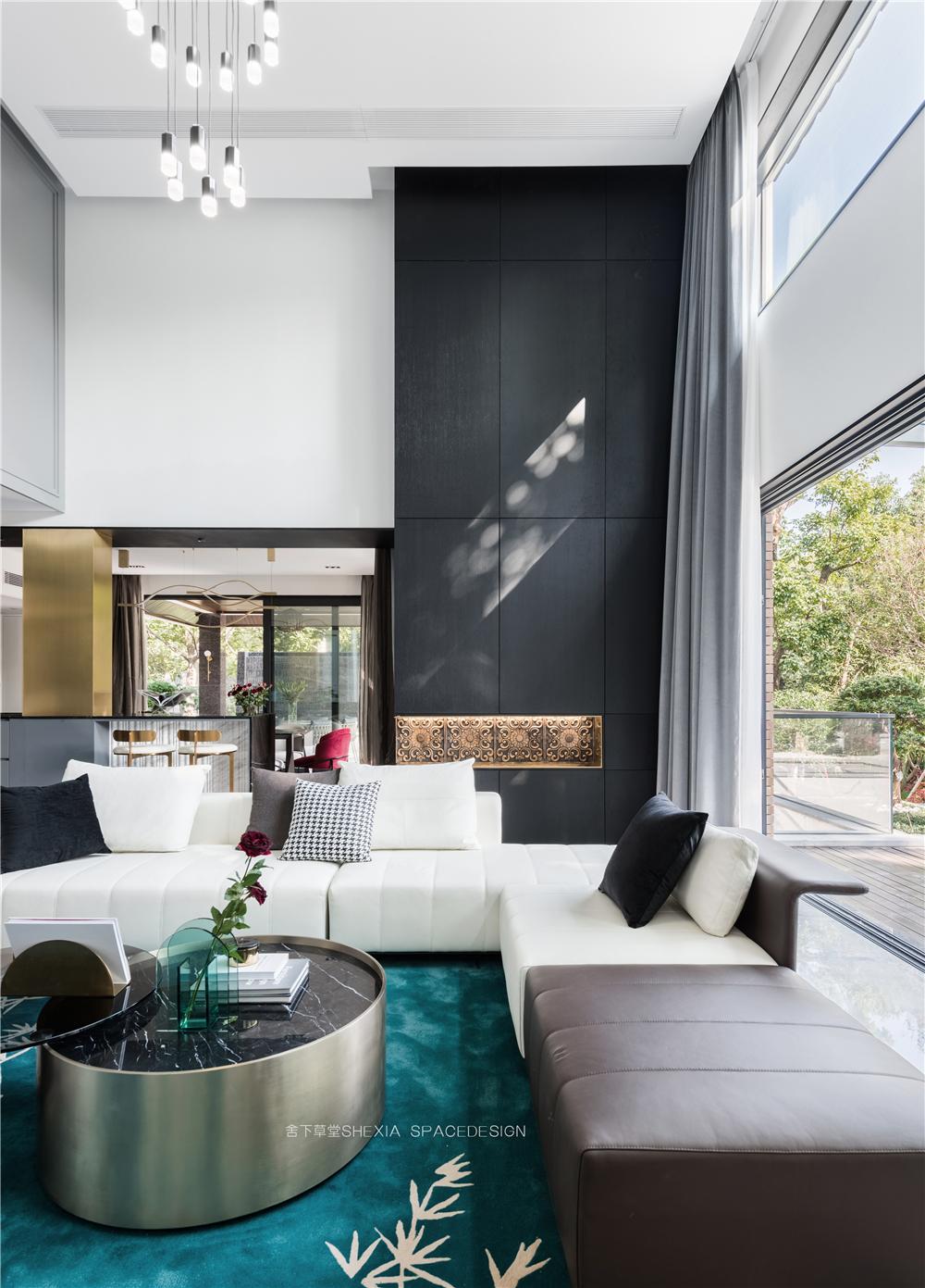 轻奢别墅装修沙发设计效果图