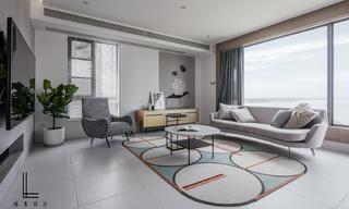简约现代三居装修效果图