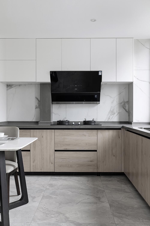 160㎡现代简约风格厨房装修效果图