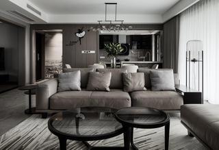 现代风格四居室装修沙发设计图