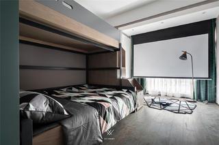 135㎡现代三居室儿童房装修效果图