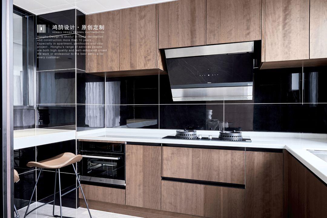 140㎡现代简约风格厨房装修效果图