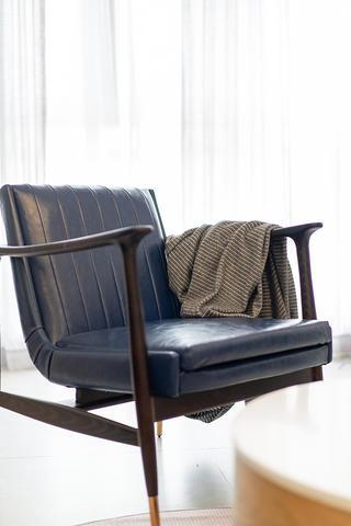80㎡北欧风格装修休闲椅设计图