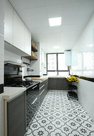 二居室北欧风厨房装修效果图
