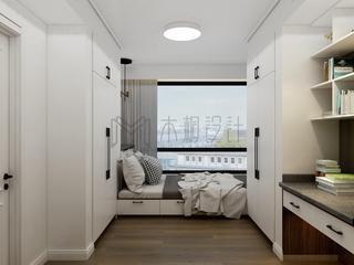 现代混搭三居榻榻米房装修效果图