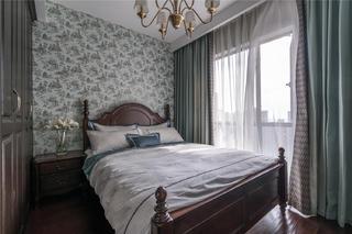 大户型中美混搭风卧室装修效果图