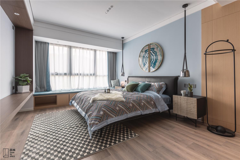 大户型现代混搭风格卧室装修效果图