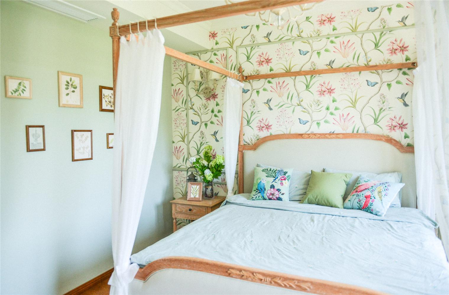 160㎡法式风格卧室装修效果图
