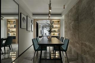 现代风格三居室餐厅每日首存送20