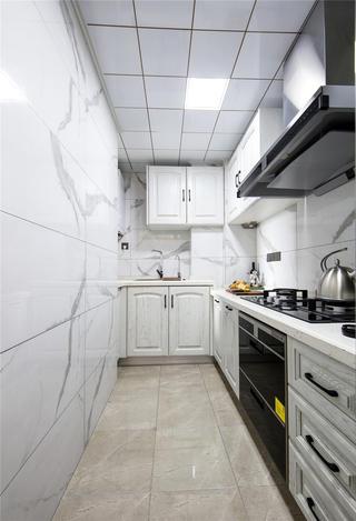 90㎡美式两居厨房装修效果图