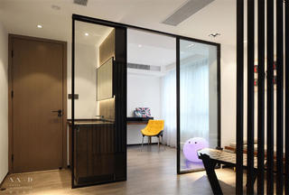 现代简约风格别墅休闲室装修效果图