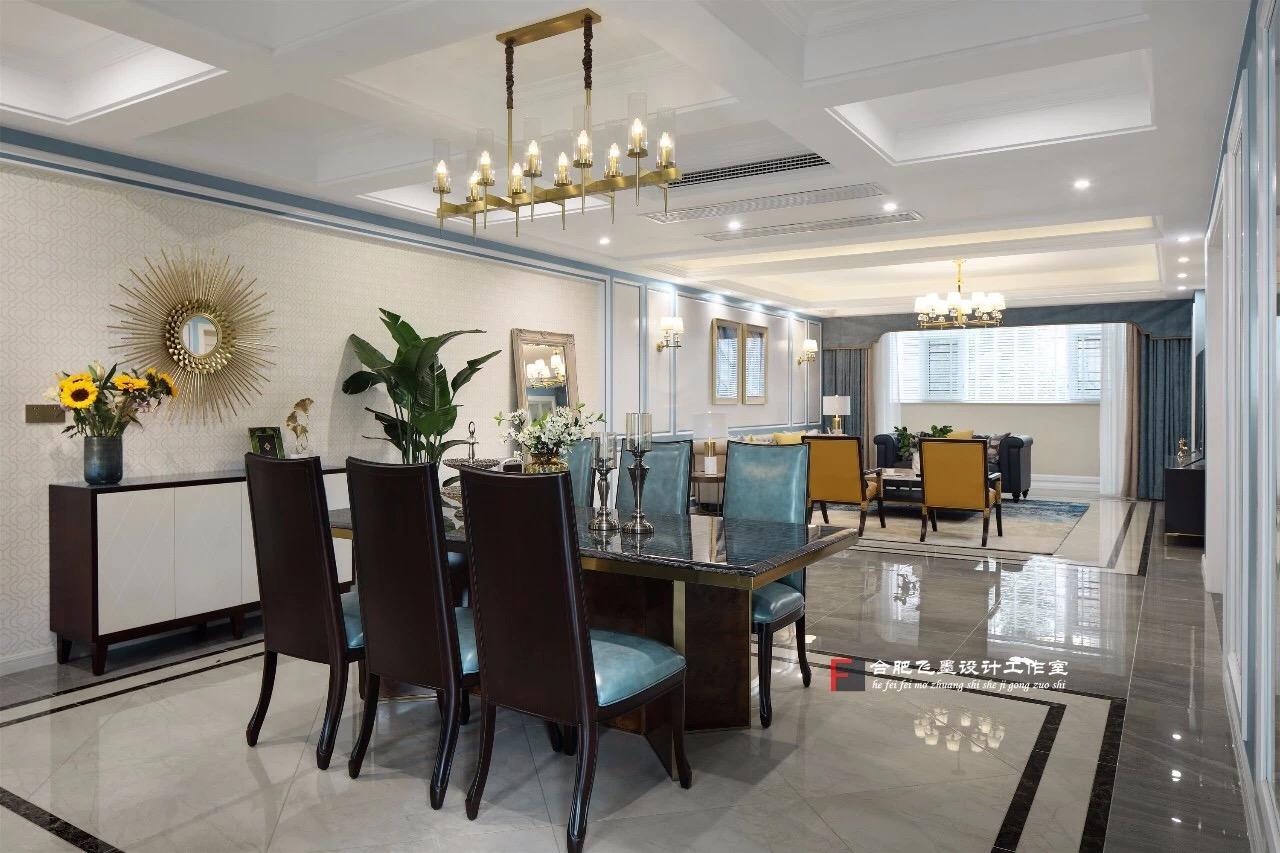 美式风格别墅餐厅装修效果图