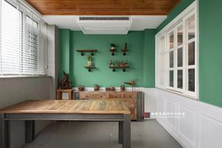 美式风格别墅茶室装修效果图